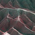 Death Valley Mountains 3 by Naxart Studio