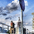 Decatur Alabama Industrial District by Kathy Clark