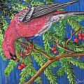 December Berries by Dee Carpenter