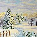 December Morning by Inese Poga