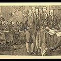 Declaration Of Independence In Sepia by Rob Hans