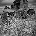 Decline Of The Small Farm No.2 by Randall Nyhof