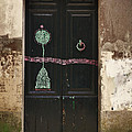 Decorated Door by Mary Machare