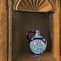 Decorative Carafe In An Alcove by Kantilal Patel
