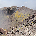 Degassing North Crater With Fumarolic by Richard Roscoe