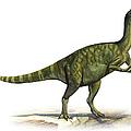 Deinocheirus Mirificus, A Prehistoric by Sergey Krasovskiy