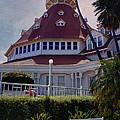Del Coronado Hotel San Diego  by Linda Dunn