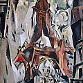 Delaunay: Eiffel Tower, 1910 by Granger