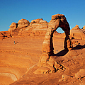 Delicate Arch At Sunset by Brian Jannsen