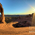 Delicate Arch Bowl by Adam Jewell