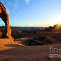 Delicate Arch Bowl Starburst by Adam Jewell