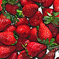 Deliciously Sweet Strawberries by Kaye Menner
