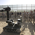 Demonstration Of A Bomb Disposal Robot by Terry Moore