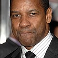 Denzel Washington At Arrivals For The by Everett