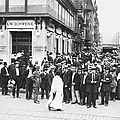 Depositors Run On Failed Bank, Nyc by Photo Researchers