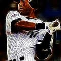 Derek Jeter New York Yankee by Paul Ward