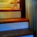 Descending The Stairs by Jill Battaglia