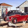 Desert Gas Station by MGL Meiklejohn Graphics Licensing