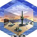 Desert On My Mind 2 by Snake Jagger