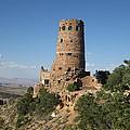 Desert Watchtower by Pasha Sourbeer