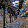 Deserted Railroad Platforms by Dave Mills