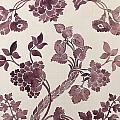 Design for a silk damask by Anna Maria Garthwaite