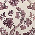 Design For A Silk Damask by Anna Maria Garthwaite