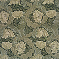 Design For 'lea' Wallpaper by William Morris