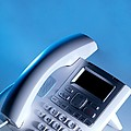 Desk Telephone by Tek Image