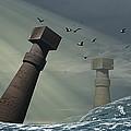Destruction Of Atlantis by Christian Darkin