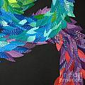 Detail - Kukulkan by Mitza Hurst