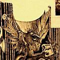 Detail 3 Of - An Unfinished Dream - Durer by J Vincent Scarpace