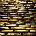 Detail Of Cobblestones, Dublin, Ireland by The Irish Image Collection