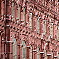 Detail Of The Kremlin, Moscow, Russia by John Burcham