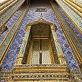 Detail Of Window And Columns Of Wat by Axiom Photographic