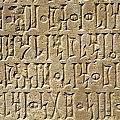 Details Of Sabaean Inscriptions At The by Axiom Photographic