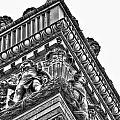 Details Of The Ellicott Buildings Roof by Michael Frank Jr
