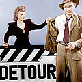 Detour, From Left Ann Savage, Tom Neal by Everett