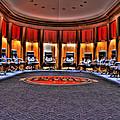 Detroit Pistons Locker Room Auburn Hills Mi by Nicholas  Grunas