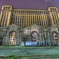Detroit's Michigan Central Station - Michigan Central Depot by Nicholas  Grunas