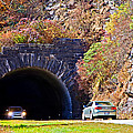 Devil's Courthouse Tunnel by Susan Leggett