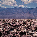 Devil's Golf Course At Death Valley by Stephen Whalen