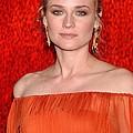 Diane Kruger Wearing A J. Mendel Dress by Everett