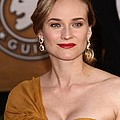 Diane Kruger Wearing Harry Winston by Everett