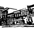 Dickson Street In Fayetteville Ar by Amanda  Sanford