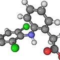 Diclofenac Drug Molecule by Laguna Design
