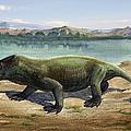 Dicynodon Trautscholdi, A Prehistoric by Sergey Krasovskiy
