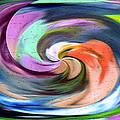 Digital Swirl Of Color 2001 by Carl Deaville