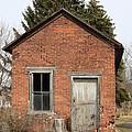 Dilapidated Old Brick Building by John Stephens