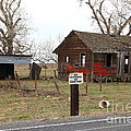 Dilapidated Old Farm House . No Trespassing . No Hunting . 7d10335 by Wingsdomain Art and Photography
